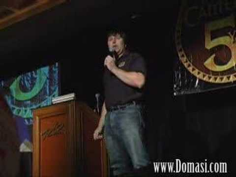 RA Salvatore - Mythic 2006 Gathering in Vegas honored guest R.A. Salvatore tells his famous