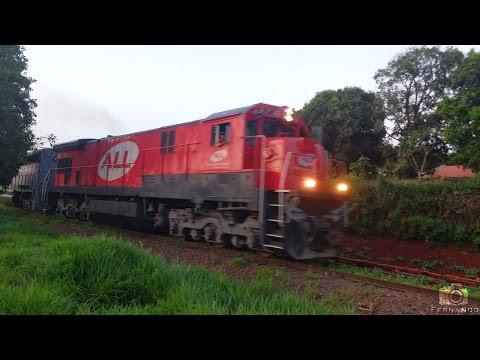 Trem F06 - em Sarandi/PR 25/10/2015