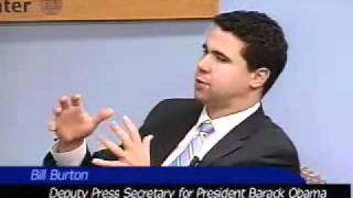 Bill Burton Deputy Press Secretary To Obama  (Feb 16 2010)