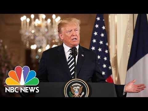 President Trump Stands By Veterans Affairs Nominee, But Offers Him Choice To Withdraw | NBC News