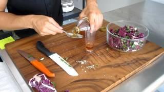 Raw Food Recipe - Thai Cabbage