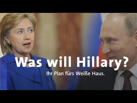 US-Wahl - was will Hillary Clinton?