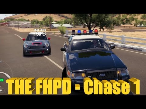 Forza Horizon 3 THE FHPD IS BACK! Ford Crown Vic Police Chase!