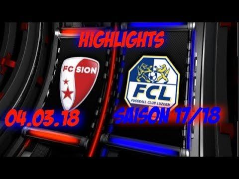 FC Sion 1-1 FC Luzern