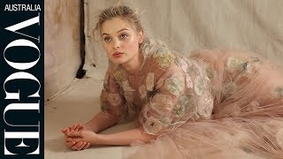 Go behind-the-scenes with Bella Heathcote on the set of Vogue's August cover shoot, as she talks choosing roles and finding her...