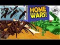 HOME WARS – OVER 10,000 LARGEST SPIDERS + WASPS vs TANKS, FLAMETHROWERS and MORE– Home Wars Gameplay