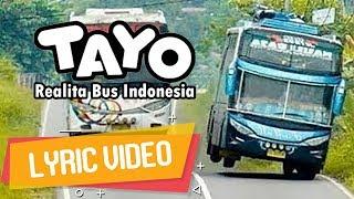 Video TAYO VERSI HIP HOP | ECKO SHOW - Realita Bus Indonesia [ Lyric Video ] MP3, 3GP, MP4, WEBM, AVI, FLV Desember 2018