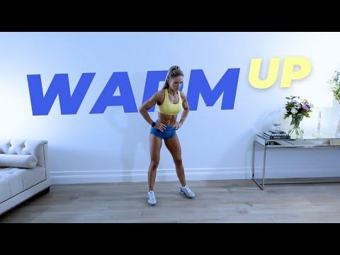 10 Min Full Body WARM UP with Caroline Girvan | Low Impact