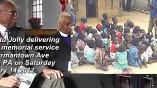 250,000 Liberians Killed In Civil War Memorial Service Sermon Delivered By Dr.Bishop Jartu Jolly