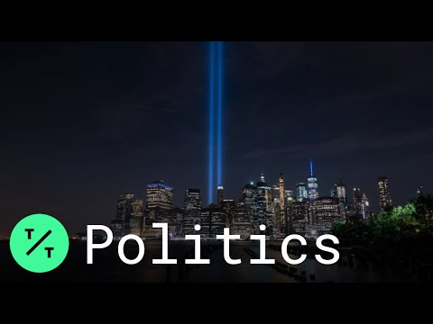9/11 Tribute in Light, Representing Twin Towers, Shines in New York City