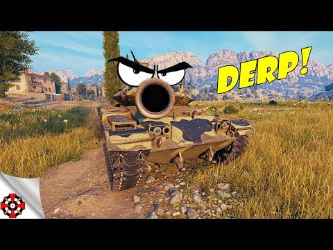 World of Tanks - Funny Moments | TIME TO DERP! (WoT derp,  December 2018