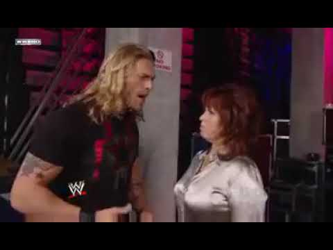 WWE 09.03.09 Edge and Vickie Backstage