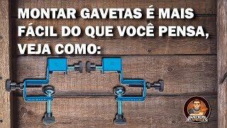 Gabarito para Gavetas (Drawer Front Clamps) - Rockler