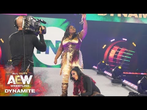 #AEW DYNAMITE EPISODE 7: AWESOME KONG AND BRANDI TAKE ANOTHER TROPHY