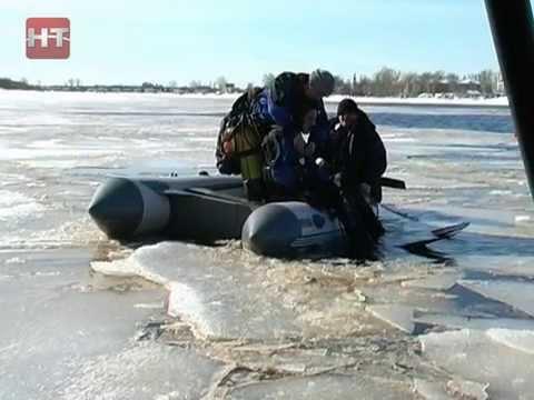 В регионе введен запрет выхода на лед