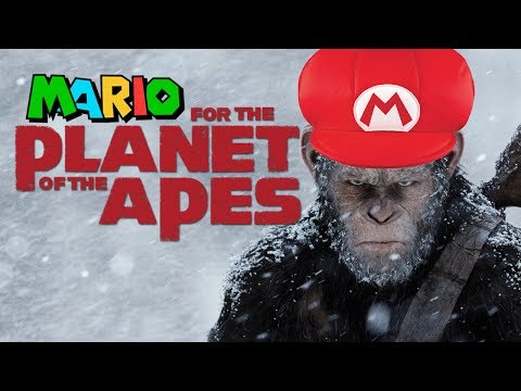 Friend noticed that War for the Planet of the Apes soundtrack is from Mario