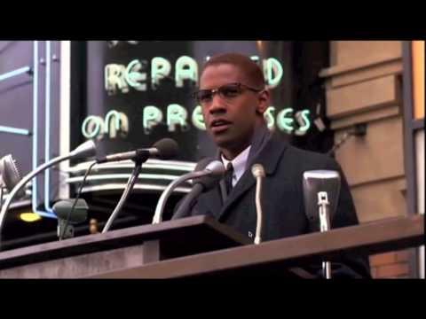 Un gran discurso sobre el hombre blanco