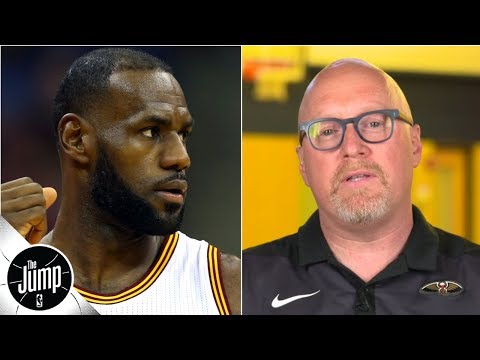 Video: David Griffin sets the record straight on his LeBron James comments | The Jump