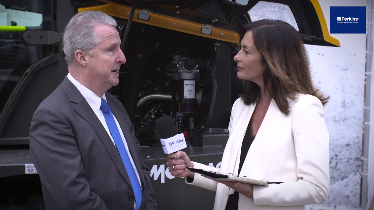 Paul MacPherson from Mecalac, talks about the Perkins powered installations at bauma Munich 2019