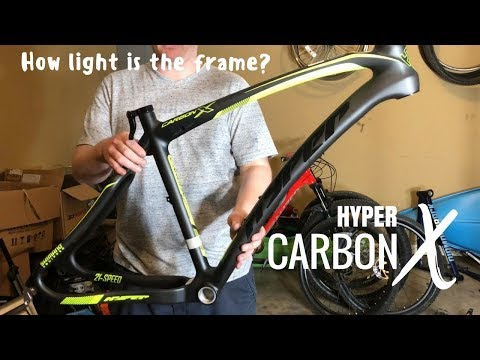 Hyper Carbon X Frame - How much does it weigh? (видео)