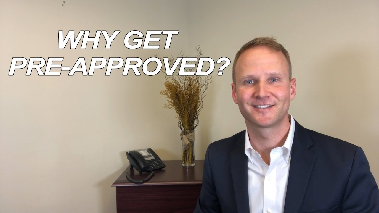 Why Should You Get Pre-Approved?