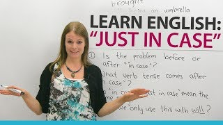 Video Learn English Expressions: JUST IN CASE MP3, 3GP, MP4, WEBM, AVI, FLV Juli 2018