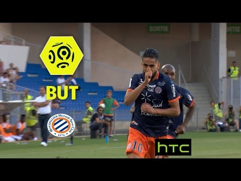 But Ryad BOUDEBOUZ (8') / Montpellier Hérault SC - Angers SCO (1-0) - / 2016-17