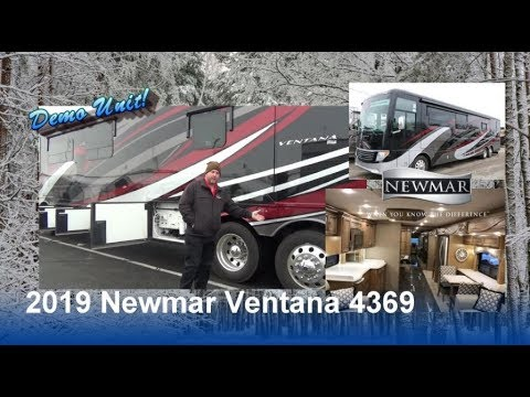 DEMO UNIT | 2019 Newmar Ventana 4369 | Mount Comfort RV