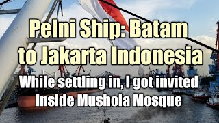 Video Inside the Mushola, Drinking a TEBS, and Getting Settled on Pelni Ship Batam to Jakarta Indonesia MP3, 3GP, MP4, WEBM, AVI, FLV Mei 2019