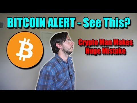 BITCOIN ALERT - Crypto Has Something BIG Coming | Man Makes HUGE Mistake