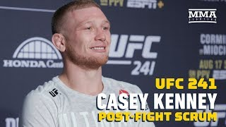 UFC 241: Casey Kenney Says Manny Bermudez Was '20 Pounds' Heavier In The Octagon - MMA Fighting by MMA Fighting