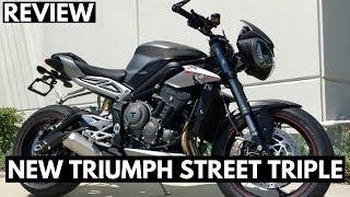 2. 2018 Triumph Street Triple 765 RS - 500 Mile Review!