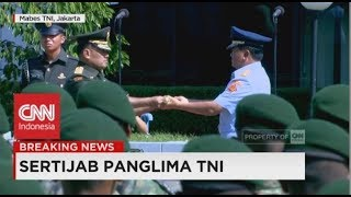 Video Serah Terima Tongkat Komando Panglima TNI dari Jenderal Gatot Nurmantyo ke Marsekal Hadi Tjahjanto MP3, 3GP, MP4, WEBM, AVI, FLV Mei 2018