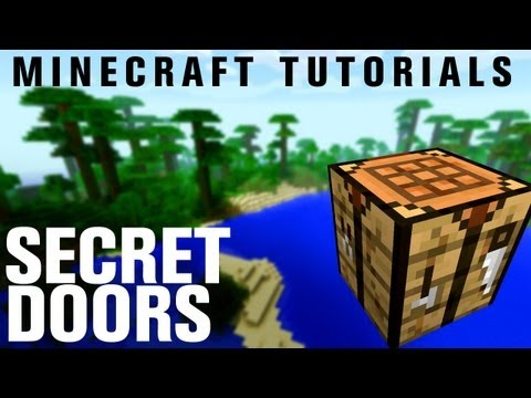 Minecraft Tutorials: How to Build a Secret Entrance