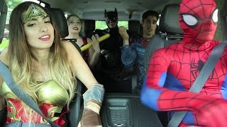 Nonton Super Hero Carpool Ride Film Subtitle Indonesia Streaming Movie Download