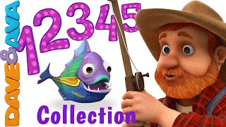 Video 12345 Once I Caught a Fish Alive | Number Song | Nursery Rhymes Collection from Dave and Ava MP3, 3GP, MP4, WEBM, AVI, FLV September 2019