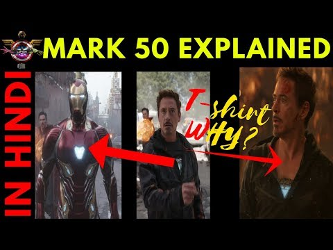 Iron Man Mark 50 Avengers Infinity War Armour || Explained In Hindi ||
