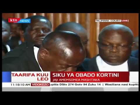 BREAKING: Governor Okoth Obado to be remanded at Industrial Area Prison awaiting bail application