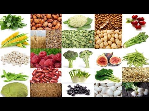 Une liste fantastique de 25 Aliments riches en fibres ainsi que leurs valeurs calorifiques
