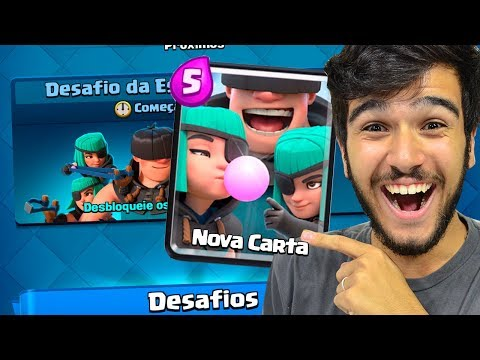 NOVA CARTA PATIFES e NOVO Desafio Confirmados!! Clash Royale