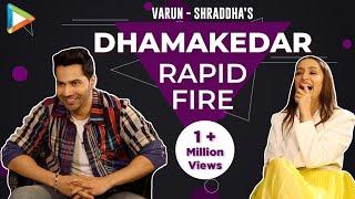 Video BLOCKBUSTER: Varun-Shraddha's rapid fire on Prabhas, SRK, Hrithik, Salman, Tiger  Street Dancer 3D download in MP3, 3GP, MP4, WEBM, AVI, FLV January 2017