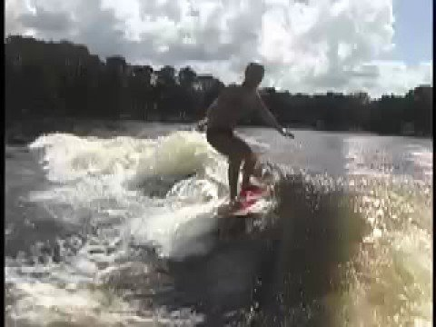 Bri Chmel Wakesurfing 3 Shuv and Backside Bigspin