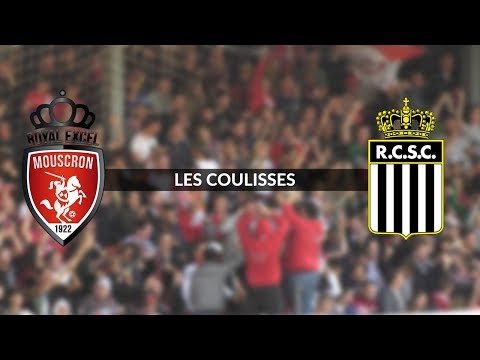 Royal Excel Mouscron - Charleroi : Les coulisses du match (видео)