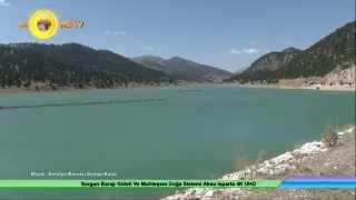sorgun barajı göleti ve muhteşem doğa sistemi aksu isparta 4k uhd