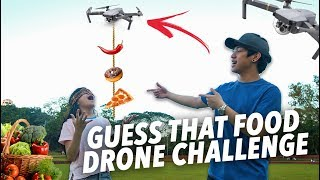 Video GUESS THAT FOOD DRONE CHALLENGE | Ranz and Niana MP3, 3GP, MP4, WEBM, AVI, FLV Februari 2019
