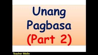Video UNANG PAGBASA (PART 2) MP3, 3GP, MP4, WEBM, AVI, FLV September 2019