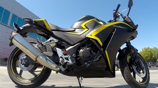 10. 2015 Honda CBR300R Review at RevZilla.com
