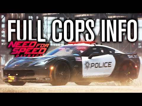 NEED FOR SPEED PAYBACK | FULL COP DETAILS, CORVETTE, RHINO, SIDE BETS & MORE! (видео)