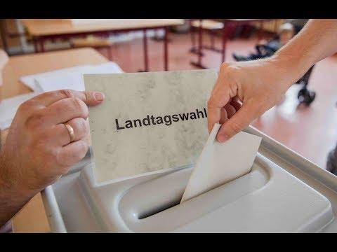 Richtungswahl: In Brandenburg und Sachsen sind die Wa ...