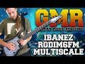 Ibanez Iron Label RGDIM6FM Multiscale Review (Studio Quality)